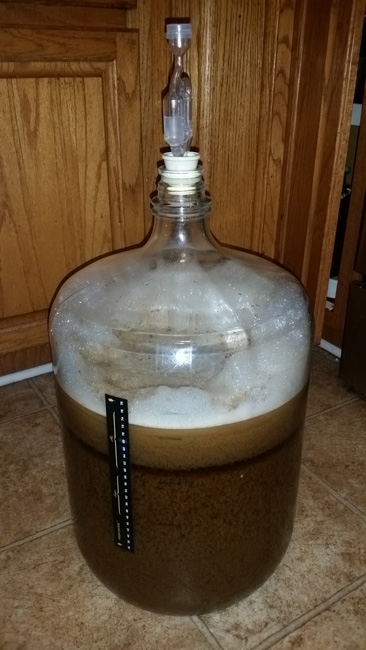 Aerated wort